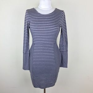 Free People Beach Striped Body Con Dress Small